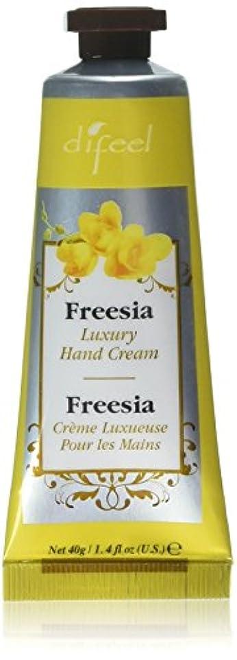 戸棚和変更Difeel(ディフィール) フリージア ナチュラル ハンドクリーム 40g FREESIA 03FRS New York 【正規輸入品】