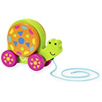 Imaginarium Discovery木製Snail Pull Toy