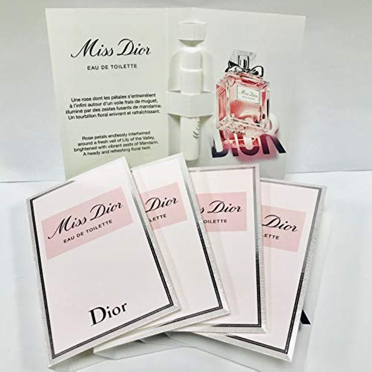 オーナメントプロポーショナル同情的Dior ディオール ミス ディオール オードゥ トワレ EDT 1ml 【サンプルサイズ】