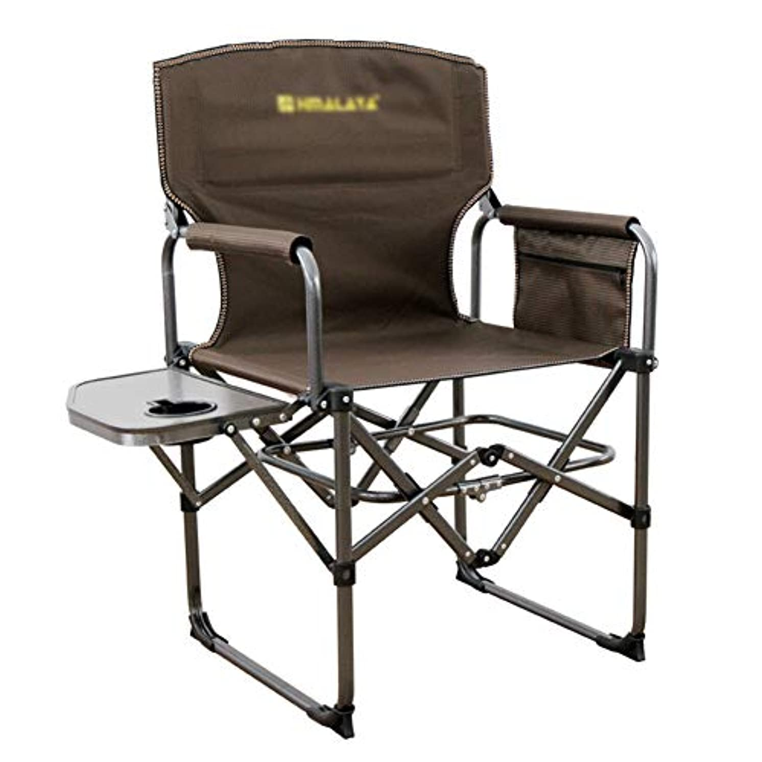 提出する一族会議カップホルダー、屋外旅行のための頑丈な超軽量のキャンプラウンジチェア、ビーチ、ピクニックとポータブル折りたたみ椅子