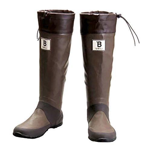[日本野鳥の会] Wild Bird Society of Japan バードウォッチング長靴 S(24.0cm) ブラウン