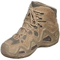 Lovoski 1/6 軍用ブーツ フィギュア 兵士の靴 アクセサリー 贈り物 全2色 - 迷彩