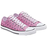 Converse X Hello Kitty CTAS Ox Skateboarding Shoes Prism Pink/White164631F