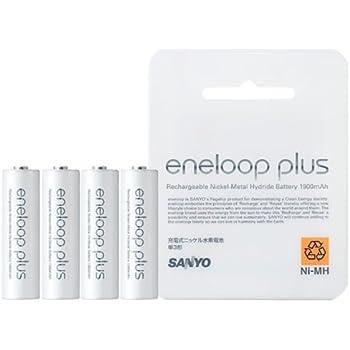 eneloop plus(エネループプラス) 充電池 4本単3形 [HR-3UPT-4BP]