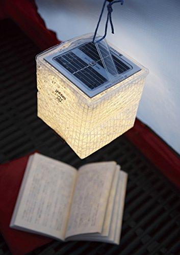 Landport ソーラー式エコライト solar puff ソーラーパフ ウォームライト PUFF-15WL