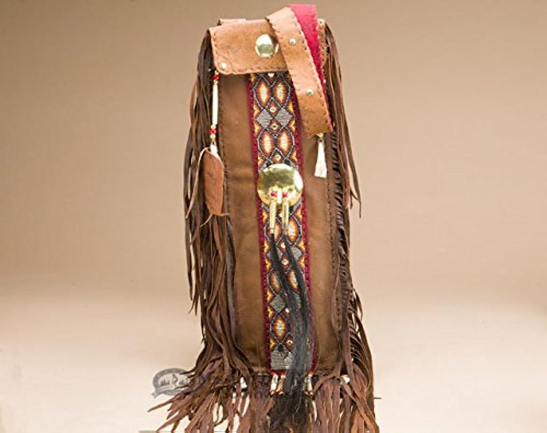 個人嘆願免疫するNative American Puebloインディアンパイプバッグ6