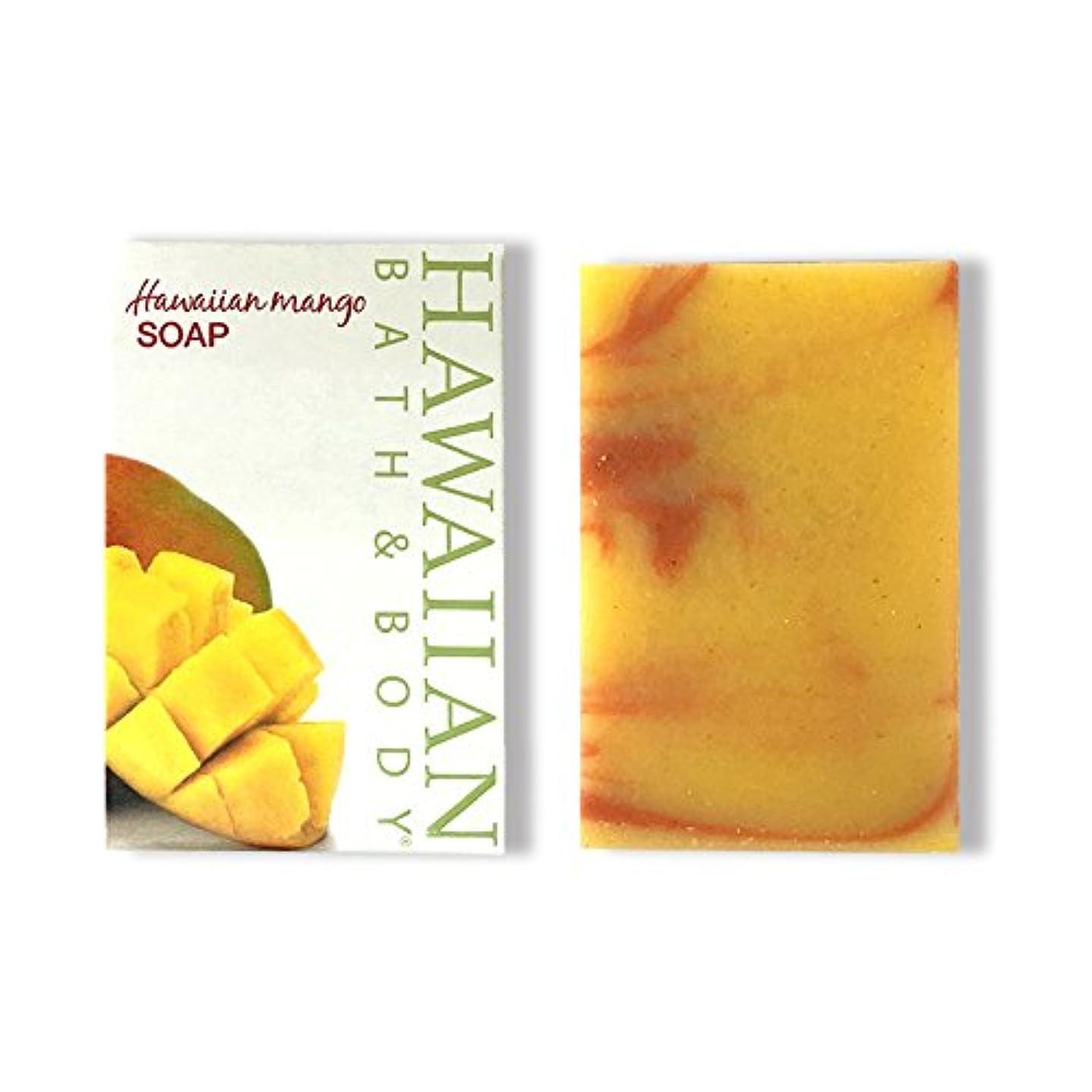 テロ乳白色成り立つハワイアンバス&ボディ ハワイアンマンゴーソープ ( Hawaiian Mango Soap )