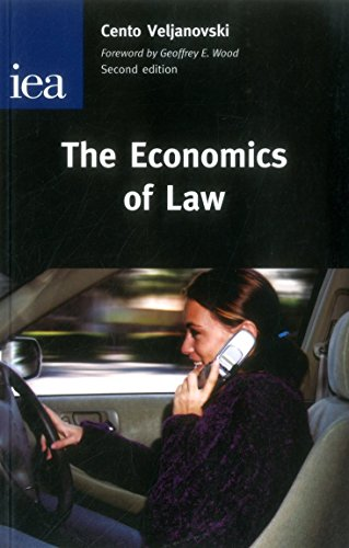 Download The Economics of Law: An Introductory Text (Hobart Papers (Paperback)) 0255365616