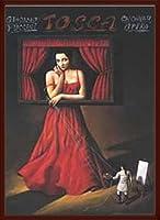 ポスター ラファル オルビンスキ Tosca 額装品 ウッドベーシックフレーム(ブラウン)