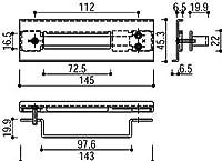 錠受(鎌錠タイプ用)(HH-4K-11541) YS:シルバー×勝手:右勝手