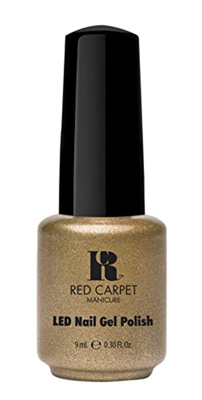 興奮する欠陥完全にRed Carpet Manicure - LED Nail Gel Polish - Magic Wand-erful - 0.3oz/9ml