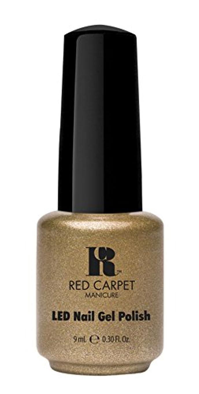 薬開発マインドフルRed Carpet Manicure - LED Nail Gel Polish - Magic Wand-erful - 0.3oz/9ml