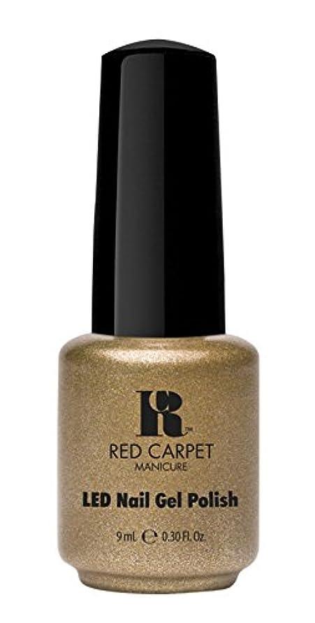 まもなく特に十代の若者たちRed Carpet Manicure - LED Nail Gel Polish - Magic Wand-erful - 0.3oz/9ml