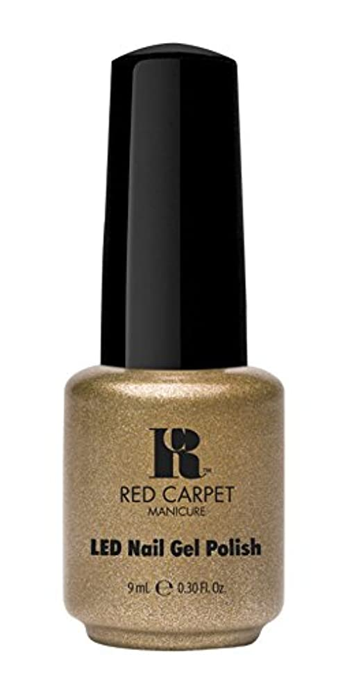 目立つ外側用心Red Carpet Manicure - LED Nail Gel Polish - Magic Wand-erful - 0.3oz/9ml