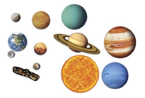 Giant Magnetic Solar System 理科教材 ホワイトボード ソーラーシステム マグネット式 太陽系