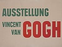 Ausstellung Vincent van GoghヴィンテージポスターGermany 12 x 18 Art Print LANT-58286-12x18