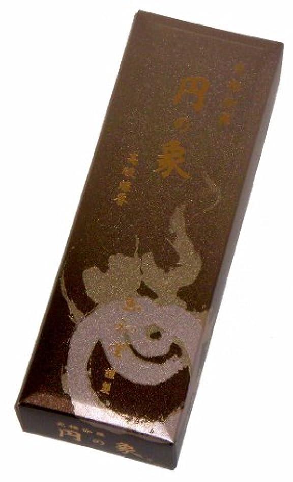 勇敢なみすぼらしい評論家玉初堂のお香 円の象 短寸