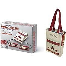 ニンテンドークラシックミニ ファミリーコンピュータ+ファミコン トートバッグ 【Amazon.co.jp限定】 オリジナルポストカード(30枚セット) 付