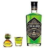 コカレロ Cocalero 700ml 29度 ボムグラス1個+ショットグラス1個付き
