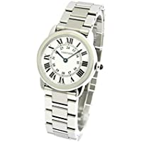[カルティエ]CARTIER 腕時計 ロンドソロ シルバー SM W6701004 レディース 【並行輸入品】