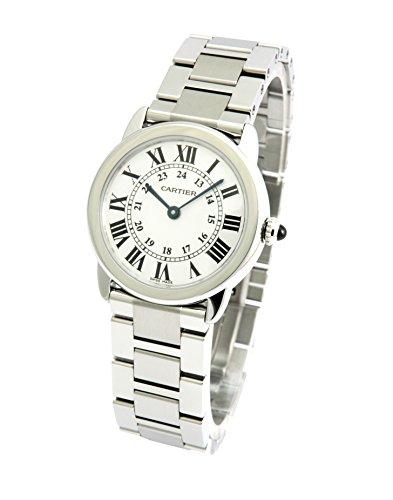 [カルティエ]CARTIER 腕時計 ロンドソロ シルバー S...