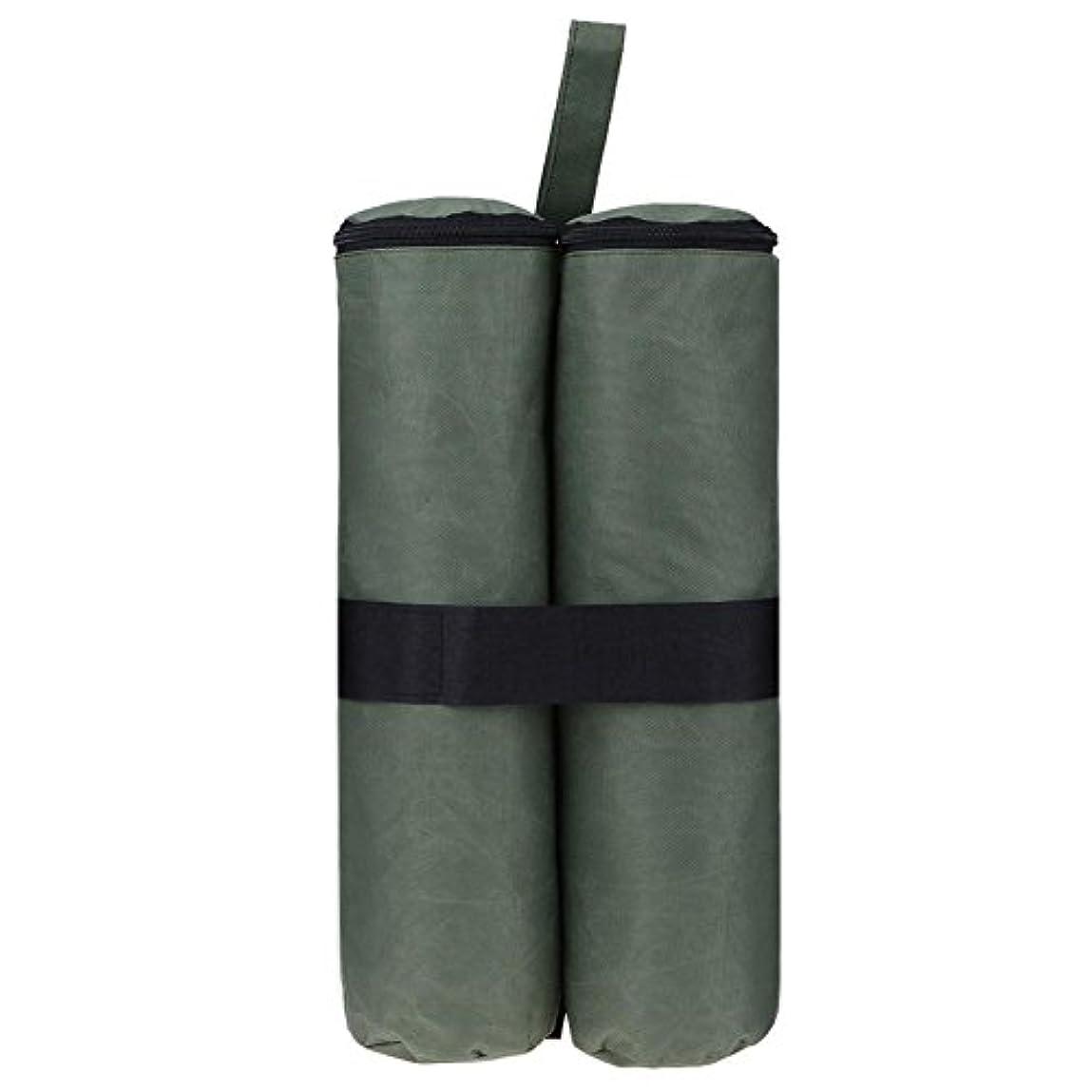 既婚馬鹿タヒチk-outdoor テント用重り ウエイトバッグ テント固定用 タープ用 固定バンド付き ネオプレン 重し 防水 170g
