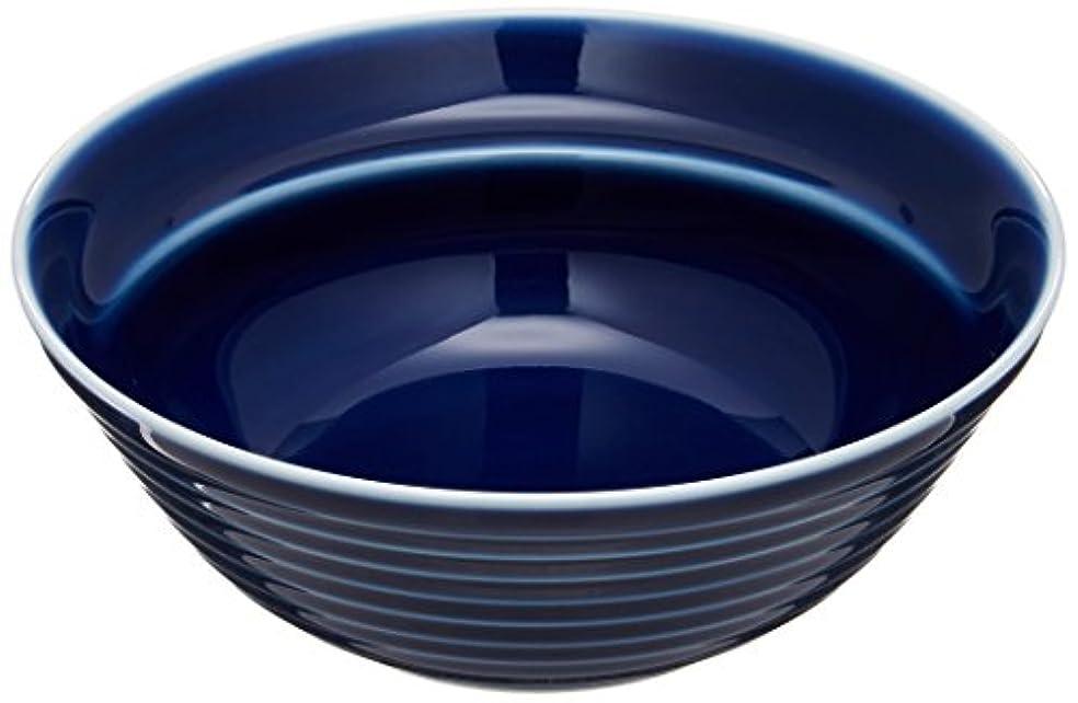 避ける帰するがっかりした白山陶器 ボール(小) ブルー コモ (約)φ12.5×4.5cm 波佐見焼 日本製