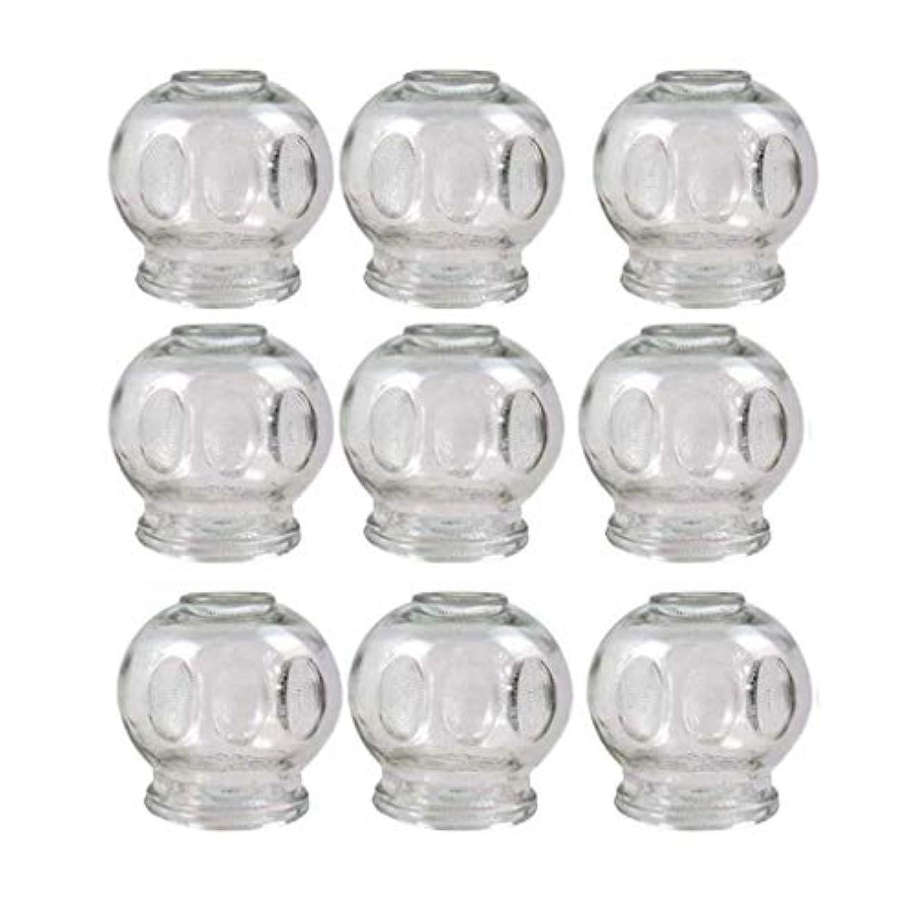 ブリッジ彫刻織機ガラスのカッピング(消火栓)真空マッサージNewØ55 MM 9pcs