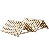 すのこベッド シングル 四つ折り|ベッド 通販・価格比較   価格.com