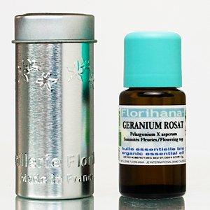 オーガニック エッセンシャルオイル ローズゼラニウム 15g(16.9ml)
