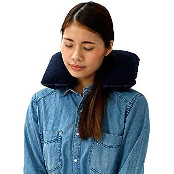 ふわってぃ(TM) ポケットに携帯できる トラベル用クッション枕 ハンカチくらいの大きさにたためる 旅行用、電車・バス・車中泊なども快適