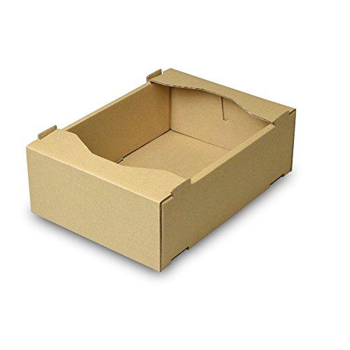 【メーカー直送品のため代引不可】C5サービス 小【L-469】 100枚セット (フルーツ用 果物用 野菜用 ギフトボックス ギフト箱 贈答用 箱)
