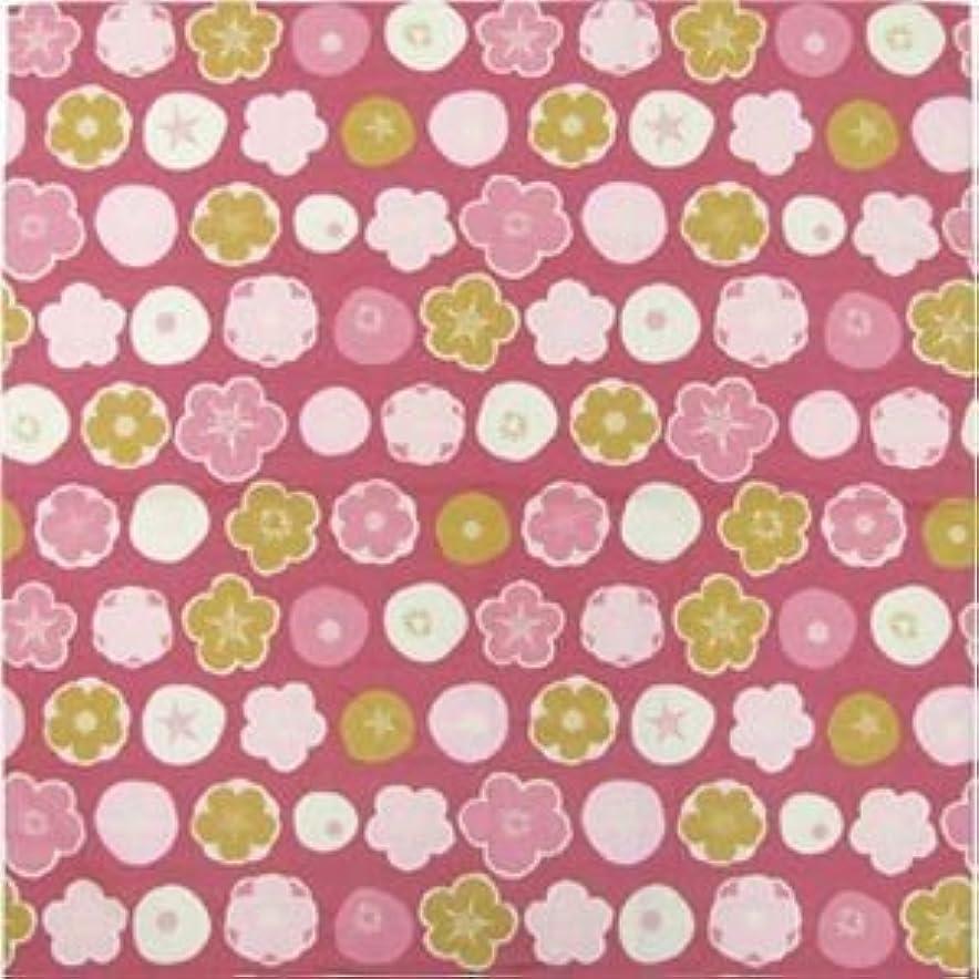 ゴミ箱を空にする詩単なる四季のクロス 水玉桜 赤