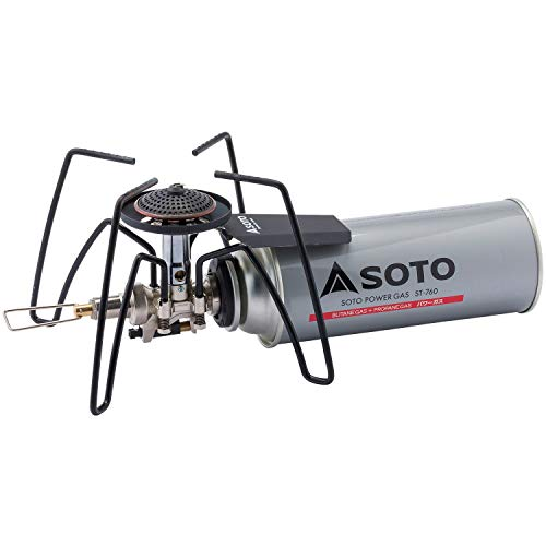 ソト(SOTO) レギュレーターストーブ ST-310 Amazon.co.jp ゲンテイ モノトーン