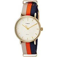 Timex Women's Fairfield 37mm Slip-Thru Strap Watch