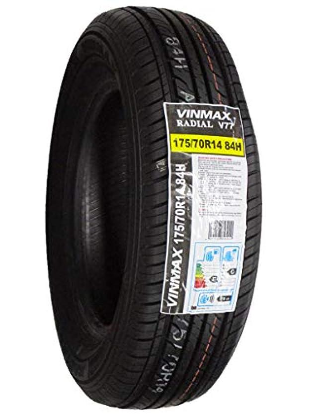 マイルストーンファッション割れ目VINMAX(ヴィンマックス) RADIAL V77 175/70R14 84H サマータイヤ