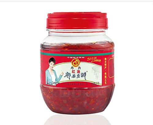 丹丹ピーシェントーバンジャン紅油豆板醤 四川風唐辛子みそ トーバンジャン 中華食材 四川料理用 業務用 500g 冷凍商品との同梱はできませんのでご注意ください。