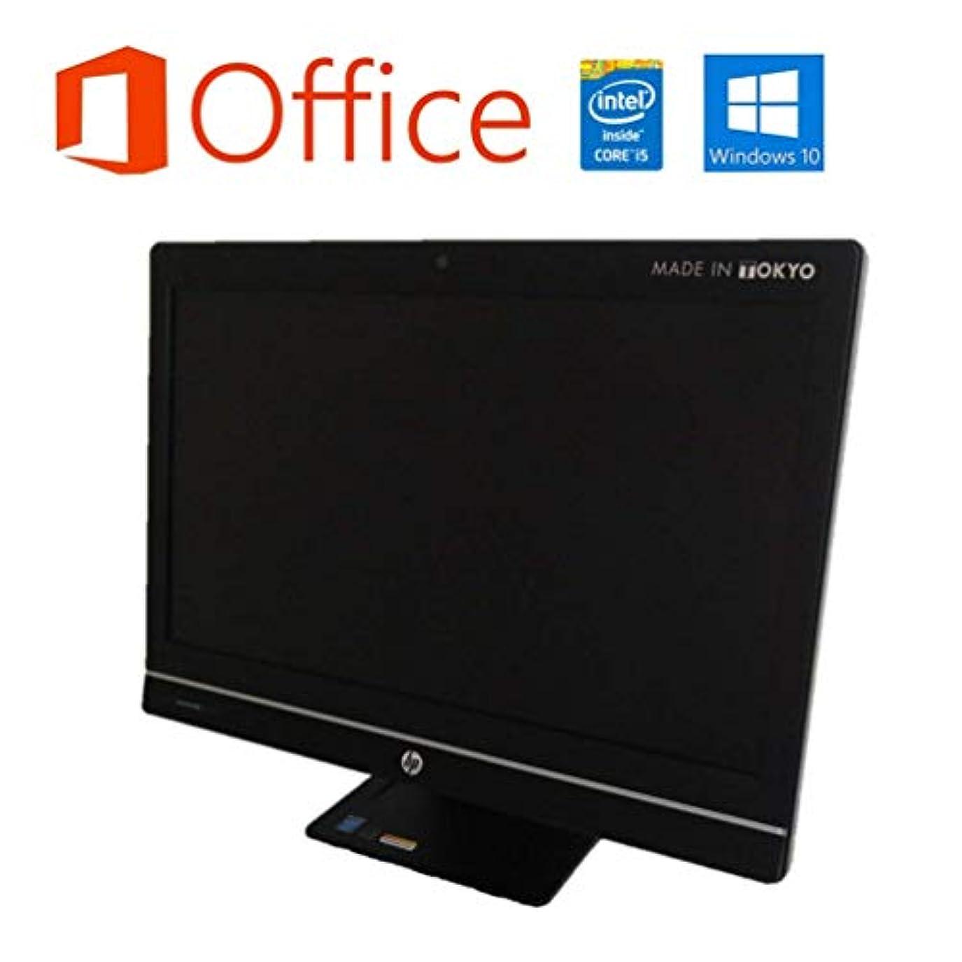 ソーセージ法王ミニチュア【Microsoft Office 2019搭載】【Windows10搭載】HP ProOne 600 G1 AIO/第四世代Core i5 4570S 2.9GHz/大容量メモリー16GB/新品SSD120GB+中古HDD500GB/DVDスーパーマルチ/無線LAN/21.5インチ液晶/中古液晶一体型パソコン(メモリー16GB:新品SSD120GB+中古HDD500GB)