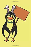 Just A Girl Who Loves Penguins lined Notebook Notizbuch