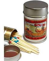 レトロラベル缶マッチ・船003