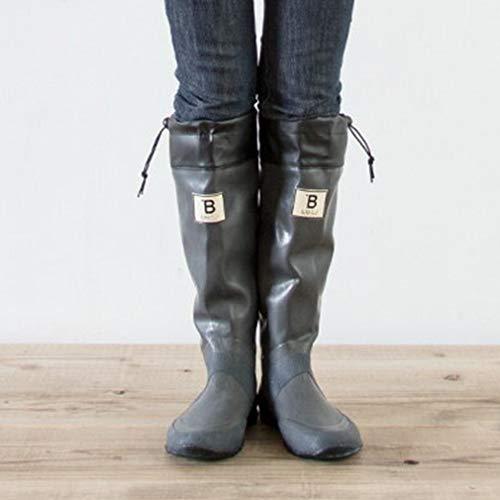 日本野鳥の会 バードウォッチング長靴 グレー 29cm(4L...