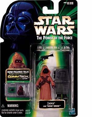 スターウォーズ Star Wars: Power of the Force CommTech > Jawa with Gonk Droid ドロイド Action Figure フィギュア 人形 [並行輸入品]