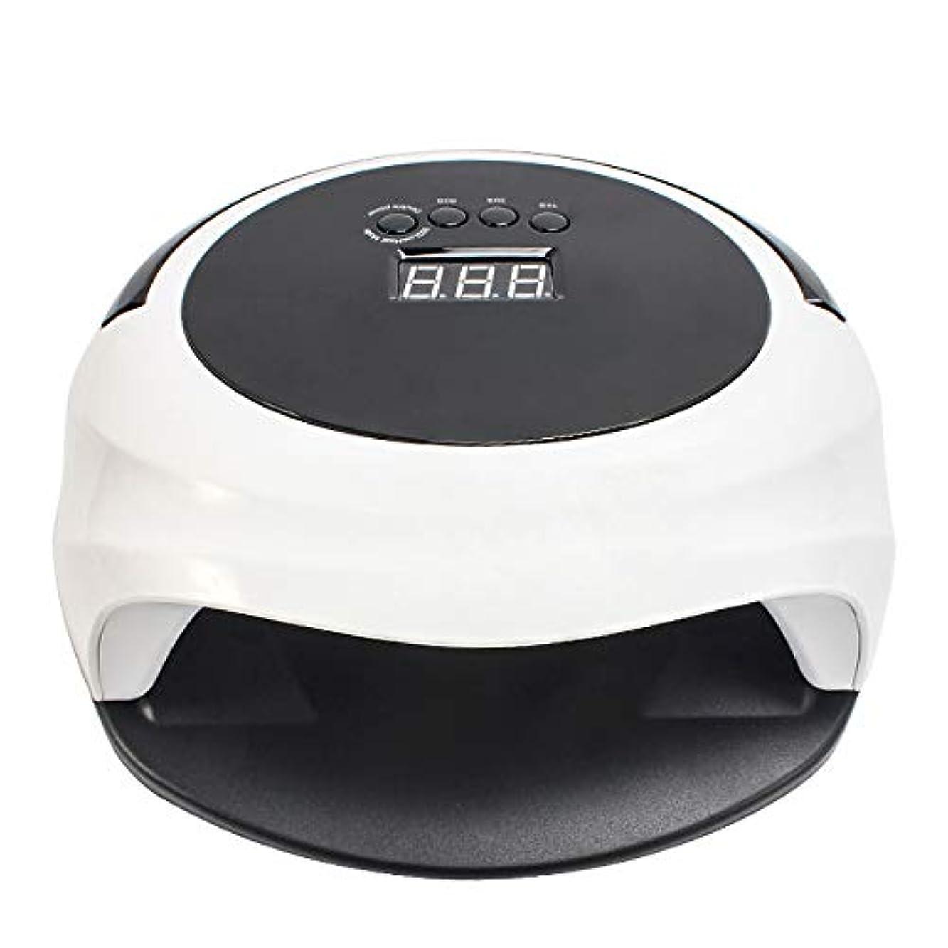 引き出しメンタル一見ネイルライト36ランプビーズ48WハイパワーLED UVデュアルソースネイルドライヤーを処理します。
