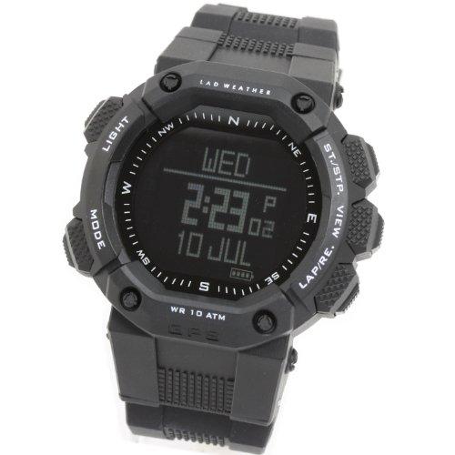 [LAD WEATHER]ラドウェザー 腕時計 GPS アウトドア/ジョギング/ランニング/フィットネス/gps ジーピーエス メンズ時計