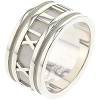 (ティファニー)TIFFANY&Co. アトラス ワイド 16号 リング・指輪 シルバー925 メンズ 中古