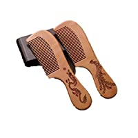木製櫛 ヘアコーム 高級 ヘアケア ヘアスタイリング ヘアブラシ ウッドコーム 手作り 帯電防止 ヘアブラシ 高品質 彫刻模様