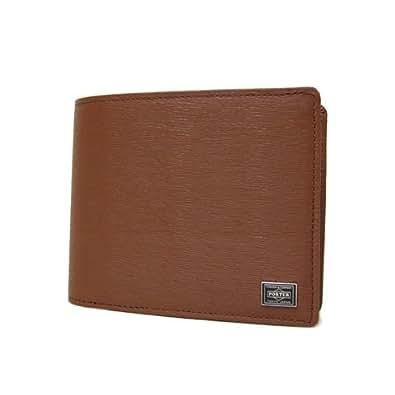 PORTER(ポーター) CURRENT カレント 二つ折り財布 052-02204 ブラウン