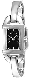 [グッチ]GUCCI 腕時計 6800 ブラック文字盤 YA068579 レディース 【並行輸入品】