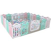 赤ちゃんのおもちゃの部屋、子供のゲームフェンス屋内遊び場家庭用ベビークローリング幼児の安全保護フェンス40-74CM (色 : H h)
