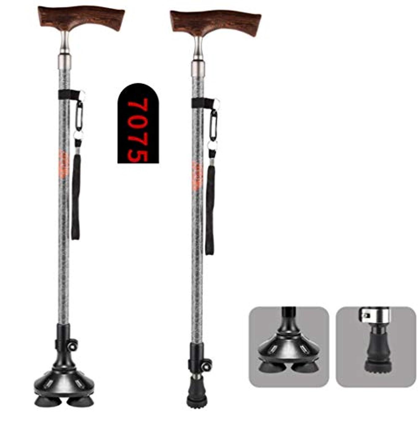 ソート明日ミル軽量の伸縮式杖歩行トラスティは、お父さんお母さんへの素晴らしい贈り物,A